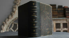Antique Rare French Book - Month Of Mary 1887 Christianity Ist Edition Signed