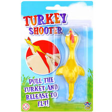 FLYING TURKEY SHOOTER SLINGSHOT BOYS GIRLS TOY PRIZE BIRTHDAY PARTY BAG FILLER
