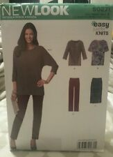 NEW LOOK by Simplicity S0271 Easy Just For Knits Sewing Patterns For Sizes XS-XL