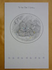 To the One I Love - Medium - Tatty Teddy Me to You - Greeting Card
