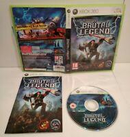 Brutal Legend - Jeu Xbox 360 - Pal Français - Complet - Comme neuf