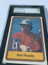1981 Donruss Golf  Bob Murphy #41 SGC 86/7.5