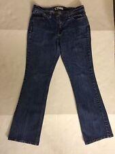 Levi's 515 Boot Cut Jeans Size 29 Inseam 30; Dark Wash; Some Stretch