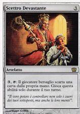 MAGIC MTG - SCETTRO DEVASTANTE -  RARA - ORO - ITALIANO - BORDO BIANCO
