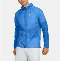 XL Under Armour Men/'s UA STORM Waterproof Rain Jacket Blue Circuit 1317353