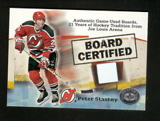 Peter Stastny--2001-02 Fleer Greats of the Game Board Certified--NJ Devils