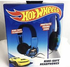MATTEL Hot Wheels HEADPHONES Kid Safe Adjustable Over The Ear CARS new in box