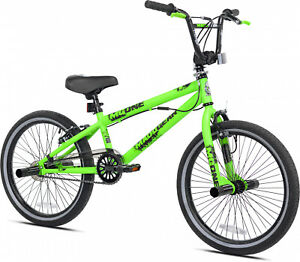 "Boys Bmx Freestyle Bicycle 20"" Wheels Summer Comfort Stunts Bike Steel Frame"