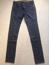 New Calvin Klein Jeans, Size 28 Dark detailed denim, Low rise Skinny jeans
