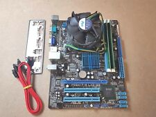 Asus P5G41T-M LX2GB Mainboard Bundle, Intel Quad Q6600 2.40GHz, 4GB REF 692