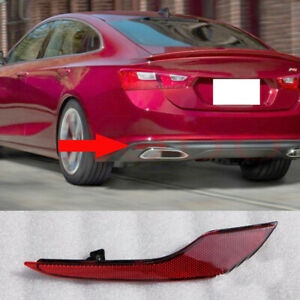 1xFor Chevrolet Malibu 2018-20 Rear Bumper Left Driver Taillight Reflector Cover