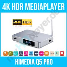 HIMEDIA Q5 PRO 4K HDR & 3D Android 3D BD-ISO MKV Mediaplayer / Smart Mini TV Box