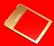Nokia 8800 Sirocco Gold Aussenglas LCD Display Front Vorne Glas inkl Kleber