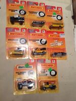 9 VINTAGE MATCHBOX CARS LoT 4 of 20 DIE CAST COLLECTION