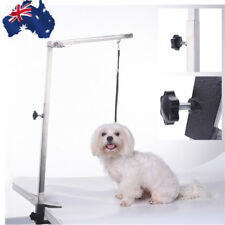 Portable Adjustable Metal Table Arm Support For Pet Dog Grooming Bath Table Desk