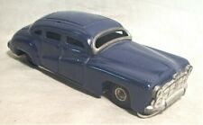 "1940s German 7 1/4"" Pressed Tin Friction Sedan - Very Clean & Working"