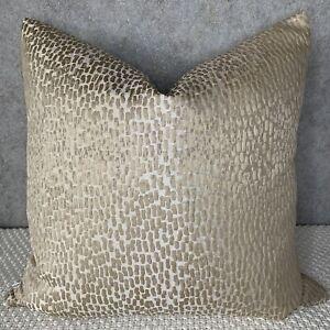 "Luxury Cushion Cover 16"" Prestigious Textiles Antelope Fabric Textured Champ"