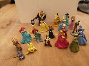 Mini disney princess mini figures/Cake toppers