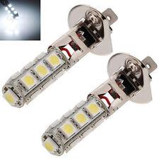 Vehicle Car Fog Light H1 5050SMD 13-LED Bulb Car White Head Light Lamp 12V White