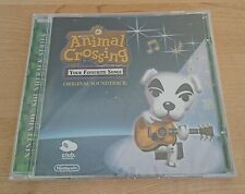 Animal Crossing Your Favourite Songs - OST Soundtrack CD - Club Nintendo - New