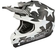 CASCO HELMET CROSS MOTO HONDA CR 450 SCORPION VX 15 EVO AIR STADIUM GRIGIO