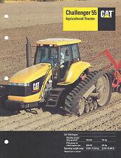1997 Caterpillar 55 Challenger Tractor 12 Pg Brochure