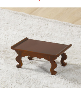 Mini Wooden Table New Korea Traditional Vintage Antique Coffee Home Small Unique