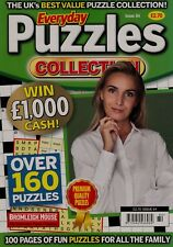 Everyday Puzzles Collection. 160 Puzzles. 100 Pages of Fun for All. Volume 84