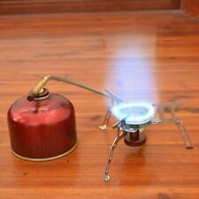 Camping Cooking Portable Equipment Gas Stove Mini Outdoor Collapsible Splits US