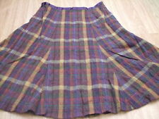 Boden Cotton Checked Casual Skirts for Women