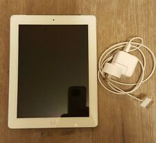 Apple iPad 3 16GB Tablet WiFi + Cellular 3G, White (A1430) Case and Charger