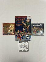 World War IX - New CDs Bender Royale & Off The Wagon - Earaches & Eyesores Comic