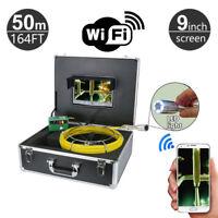 7 ZOLL LCD Display 30m Pipeline Drain Inspektion Kamera Kanal Video 1000TVL