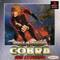 PS1 COBRA THE SHOOTING Space Adventure Japan PS PlayStation 1 F/S