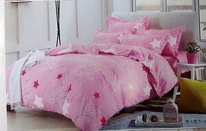 Sara  Luxurios Cashmere Cotton Blend Complete Bed Set Pink King