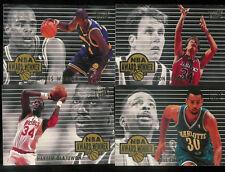 1994-95 Fleer Ultra NBA Award Winners set (4 cards)