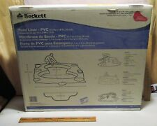 Beckett POND LINER - PVC - In Original Box - PL822 7011910 - 12 Ft X 10 Ft
