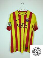BARCELONA 13/15 Away Football Shirt (L) Soccer Jersey Nike