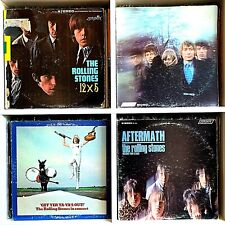 Rolling Stones Vinyl Record Lot #24 12X5 Between the Buttons Aftermath Ya-Yas