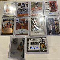 Denver Broncos Panini 10 Card Auto Lot. Sutton, Fant, Hamilton, Freeman, Butt +