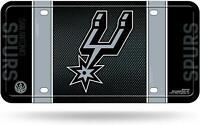 San Antonio Spurs License Plate Lightweight Metal Official NBA Licensed NEW