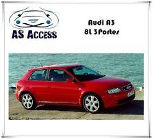 Pack LED complet Audi A3 / S3 8L 3portes