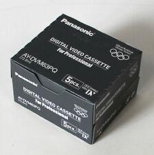 04-12-05062 5er Pack Panasonic AY-DVM63PQ - DV Cassette Digital Video Kassette