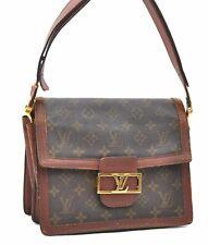 Authentic Louis Vuitton Monogram Vintage Shoulder Bag LV A4175
