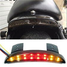 L&R Turn Signals Rear Tail light Brake License Plate Smoke For Harley Motorcycle