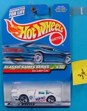 C34 HOT WHEELS CLASSIC GAMES SERIES SOL-AIRE CX4 #983 SKIP BO WHITE NEW ON CARD