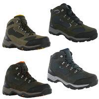 Hi-Tec Storm Waterproof Boots Leather Mesh Lace Up Hiking Walking Trail Mens