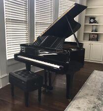 Yamaha G3 Grand Piano Polished Ebony with PianoDisc Player