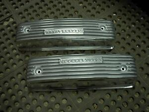 NOS Offy Offenhauser Y block 54-57 239 272 292 ford mercury hot rod valve covers