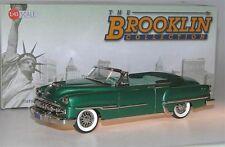 Brooklin BRK 196, 1954 DeSoto Firedome Convertible, Fairway Green Poly, 1/43